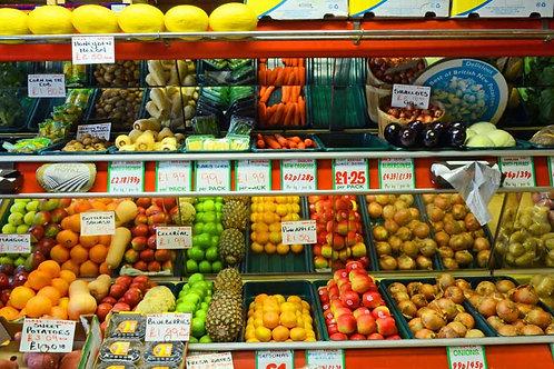 Fruit & Veg Shop Backdrop