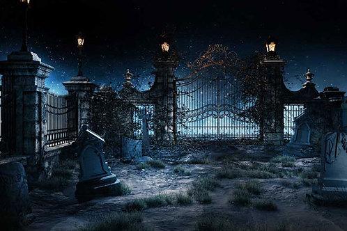Halloween 2 Bespoke Backdrop