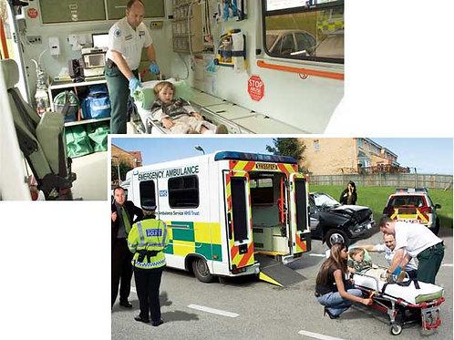 Ambulance Backdrops - large
