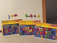 Small Magnetic Letters - Uppercase