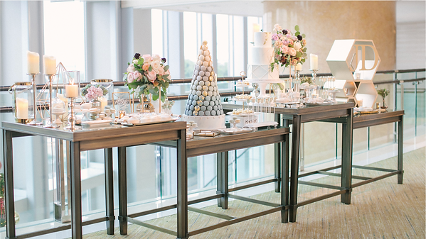 dessert table, candy bar, four seasons hotel hong kong