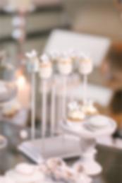 Marshmallow Pops, dessert table, candy bar