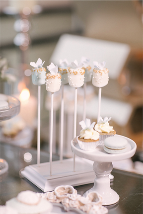 Marshmallow Pops, dessert table, candy bar