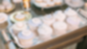 Fondant cupcakes, dessert table, candy bar