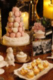 Macaron Tower, Dessert table, candy corner