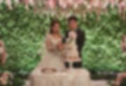 Ritz Carlton Wedding, wedding cake