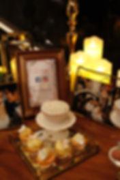 Fondant cupcakes, buttercream cupcakes, dessert table, candy corner