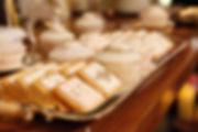 fondant icing cookies, dessert table, candy corner
