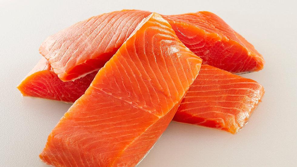 Wild Alaska King Salmon Box
