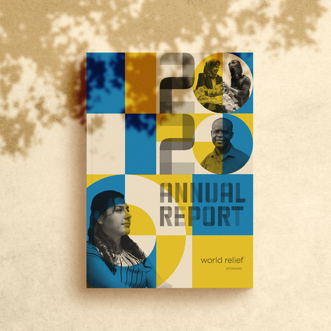 Print Layout: World Relief Annual Report