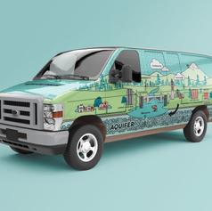 Vehicle Graphics: Water Wise Spokane