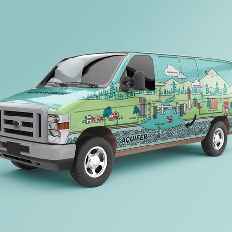 Vehicle Graphics: Water Wise Spokane