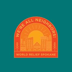 Merch Design: World Relief Spokane