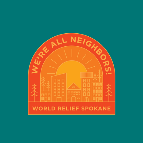 Merch Design: World Relief Spokane