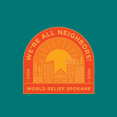 Merch Design: We're All Neighbors!