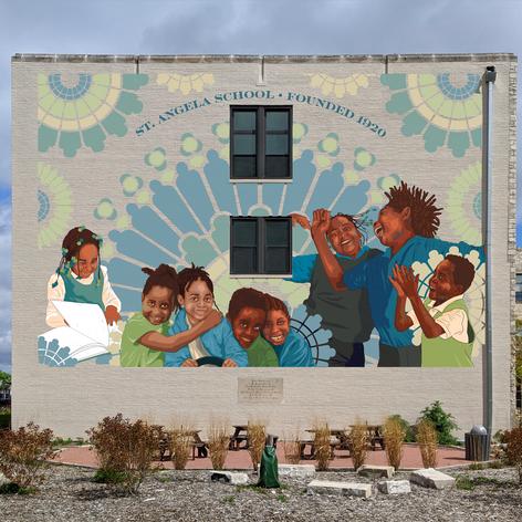 Mural Design: St. Angela's School