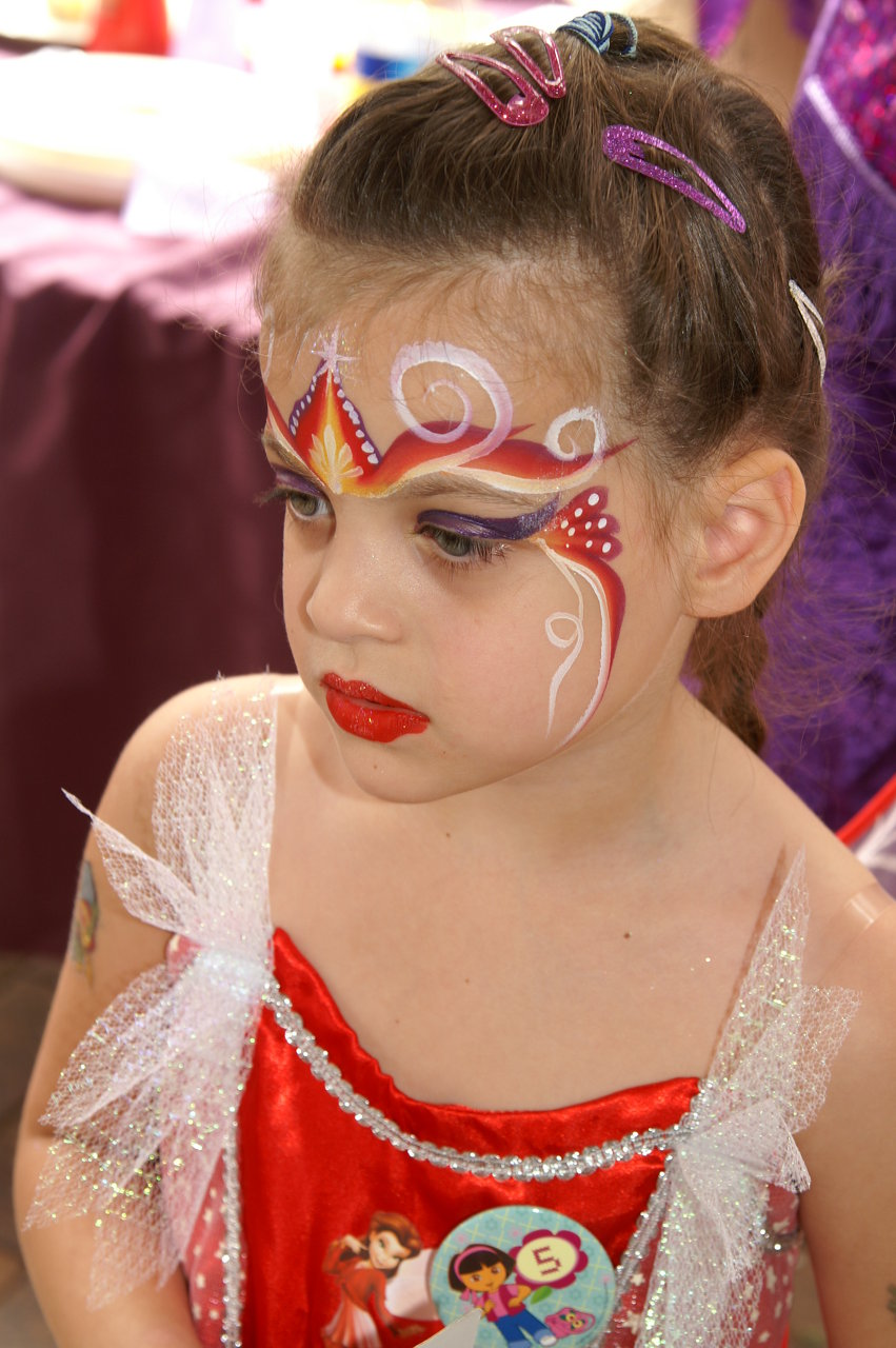 Princess+Face+Painting