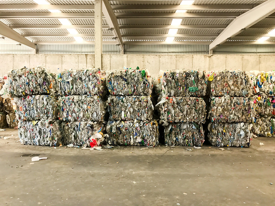 Piled Garbage