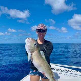 Caught a big fish