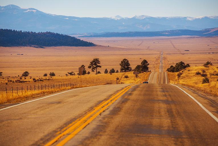 colorado countryside highway