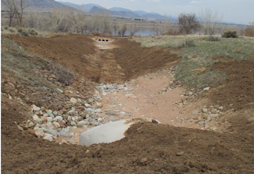 Solstice Offsite Drainage Outfall
