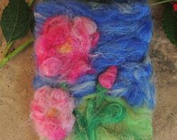 Journal Deep Pink Roses Bloom