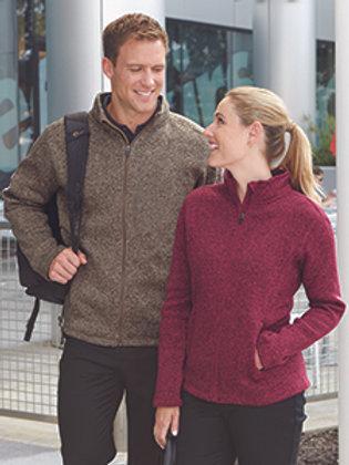 Devan and Jones Men's Bristol Full-Zip Sweater Fleece Jacket