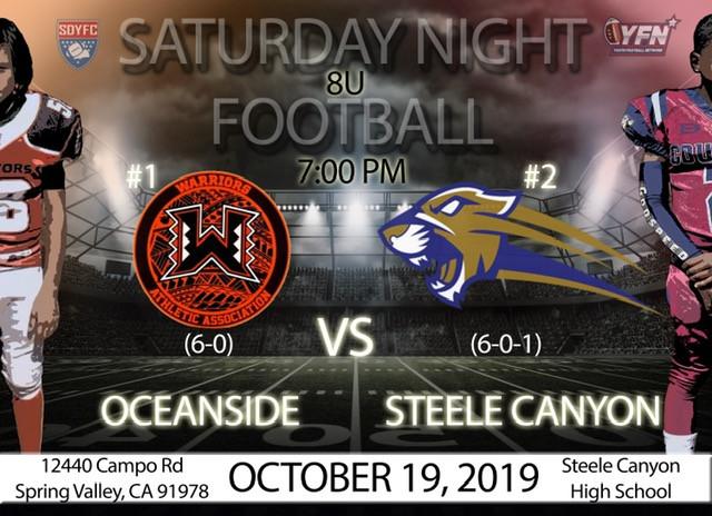 oceanside vs steele canyon