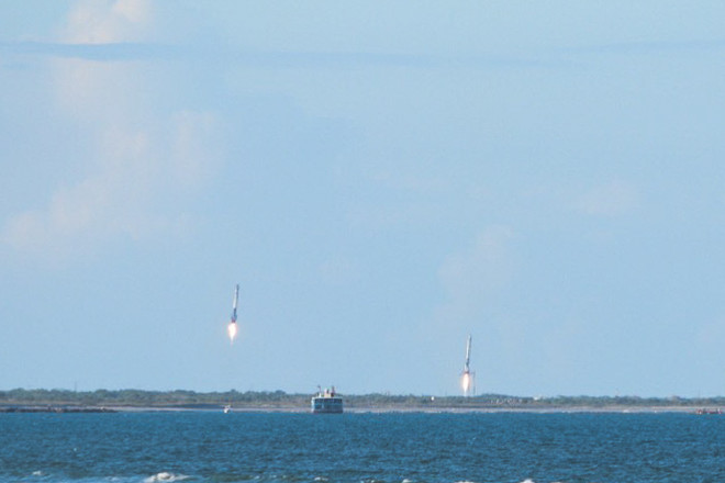Rocket launches florida