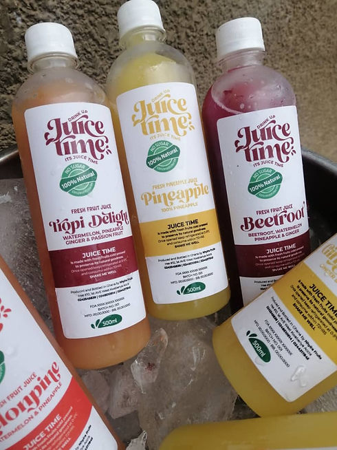 3 FLAVORS of Juice Time