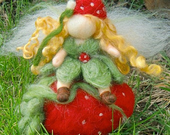 Bendy Strawberry Fairy
