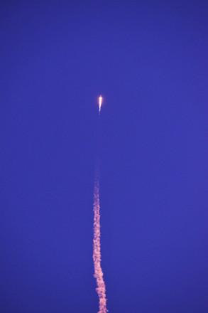 rocket launching in Florida