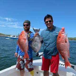 Catching 3 fish