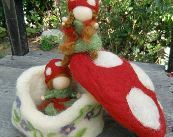 Toadstool House and Forest Children