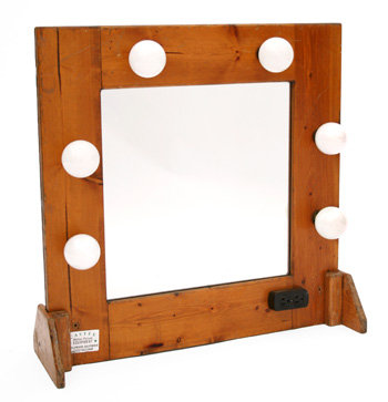 Mirror - Tabletop Makeup w/Cover
