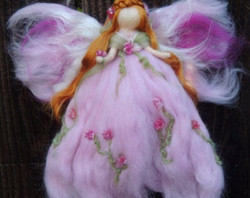 Ethereal Pink Garden Fairy