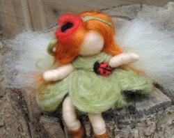 Wee Ladybug Bendy Fairy