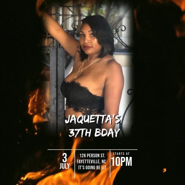 jaquettas 37th birthday