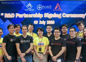 R&D Partnership ร่วมกับบริษัท R V Connex สําหรับการวิเคราะห์ภาพถ่ายทางดาวเทียม