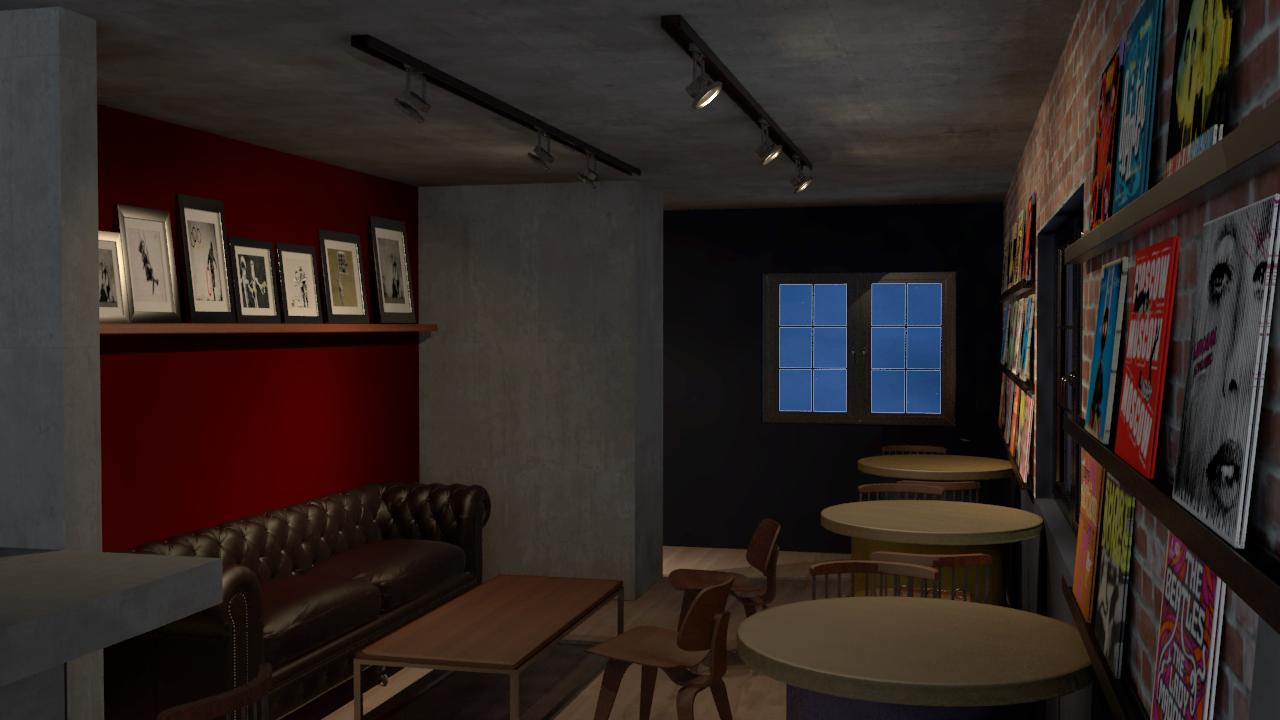 Visão geral do Lounge