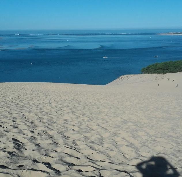 ピラ砂丘 ビーチ側