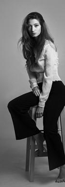 ritratto in bianco e nero di ragazza milano federica nardese fotoritratti milano