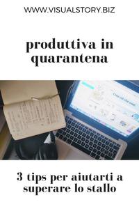 3 consigli tips per lavorare da casa in quarantena