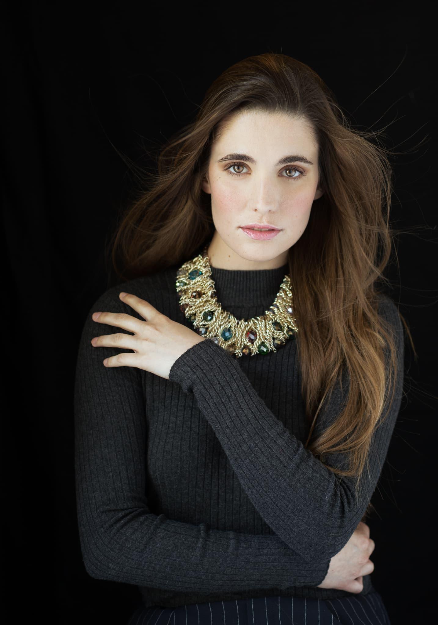 ritratto personal branding attrice milano