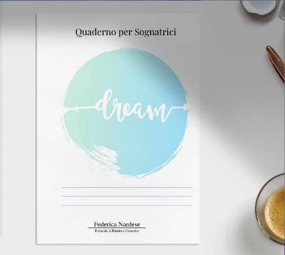 pdf scaricabile per scrivere i tuoi sogni notturni - quaderno per sognatrici