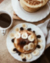 immagine flat lay di cibo per instagram feed bellissimo workshop