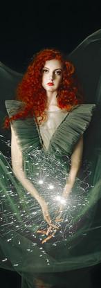 ritratto di ragazza dai capelli rossi magia fotografia