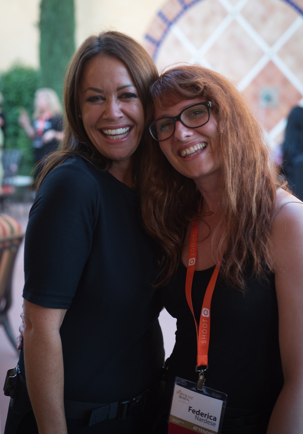 federica nardese and sue bryce at the portrait masters 2017