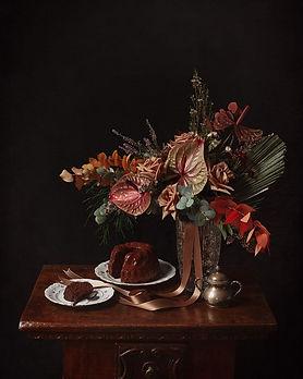 bellissima immagine instagram centro tavola floreale