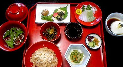 宝福寺般若院の精進料理